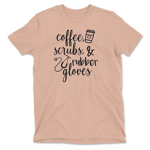 Coffee & Scrubs Tee     FREE SHIPPING!