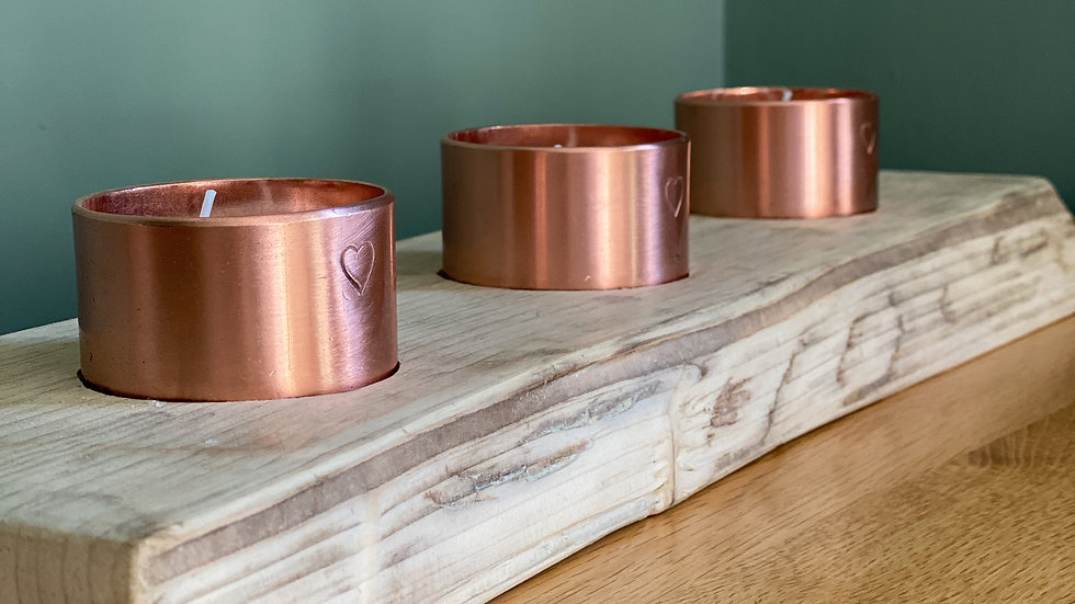 Burning Copper Pot Trio