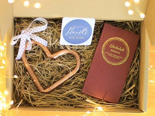 Mini Heart and Chocolate Gift Box