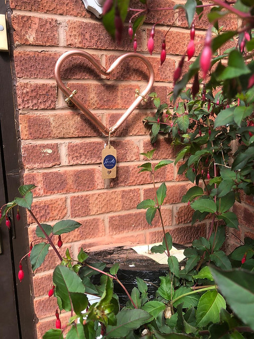 Copper Wall Heart