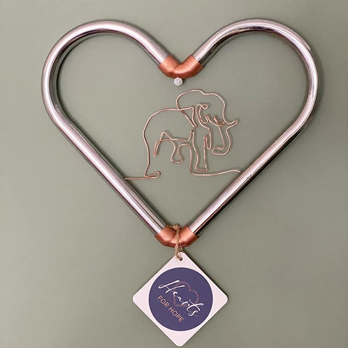 Personalised Wall Heart