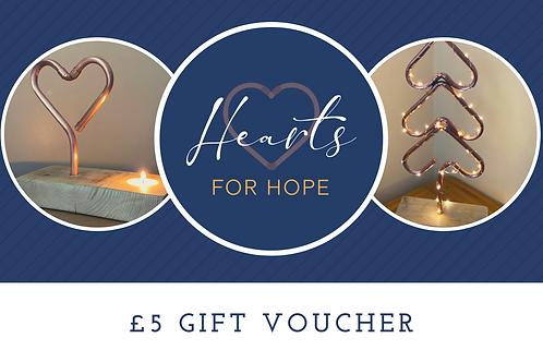 £5.00 Gift Voucher