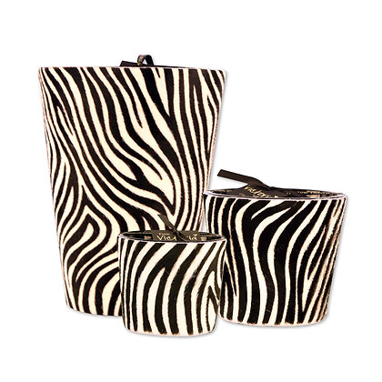 Victoria With Love Candles -  Zebra