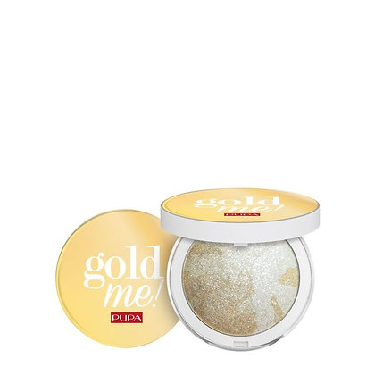 Limited Edition - Pupa Gold Me! Trio Frost Highlighter