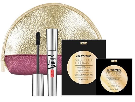 Limited Edition - Pupa Vamp! Mascara + Brightening Mask
