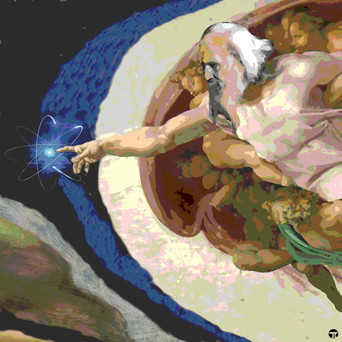 Mendeleiev por Michelangelo