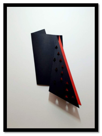 Triangular vermelho