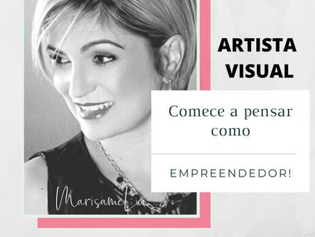 Artista, comece a pensar como empreendedor!