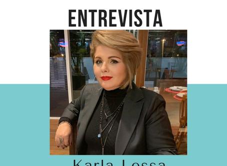 ENTREVISTA COM A ARTISTA KARLA LESSA