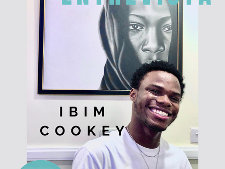 Entrevista com o artista Ibim Cookey