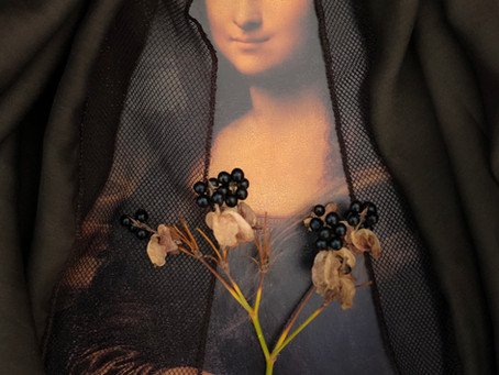 A Mona Lisa de Juliana Carvalho