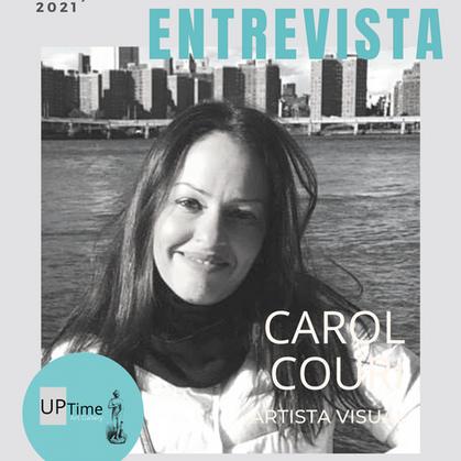 Entrevista com a artista plástica Carol Couri