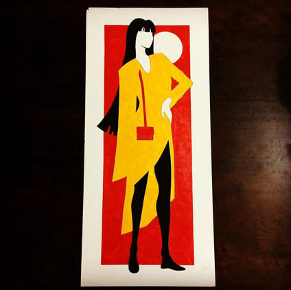 Dama de Amarelo