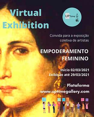 Convida para a exposição coletiva de art