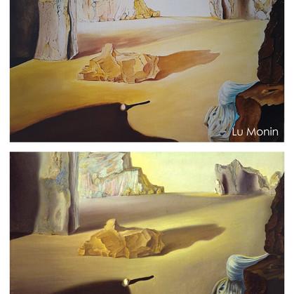 Lu Monin: A capacidade e a coragem em reproduzir Dalí!