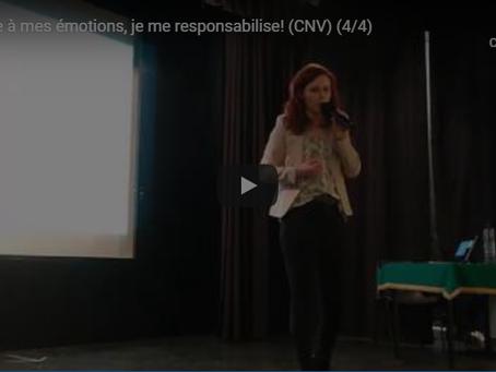 Face à mes émotions, je me responsabilise !  (Et je n'accuse pas mon/ma partenaire.) (CNV)