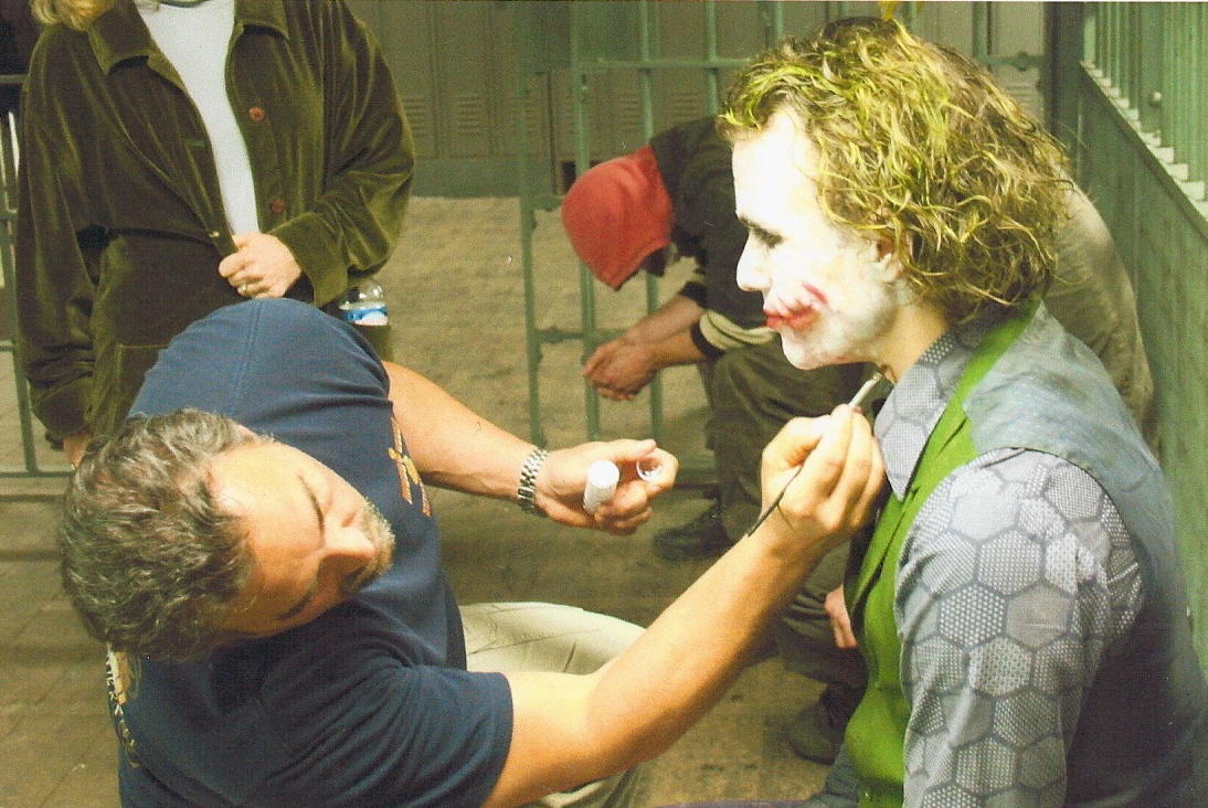John makes up actor Heath Ledger