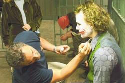 John makes up actor Heath Ledger