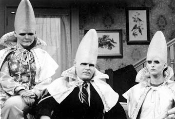 Coneheads. SNL