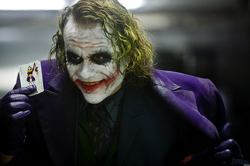 The Joker in The Dark Knight