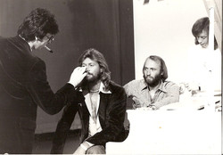 John with The Bee Gees