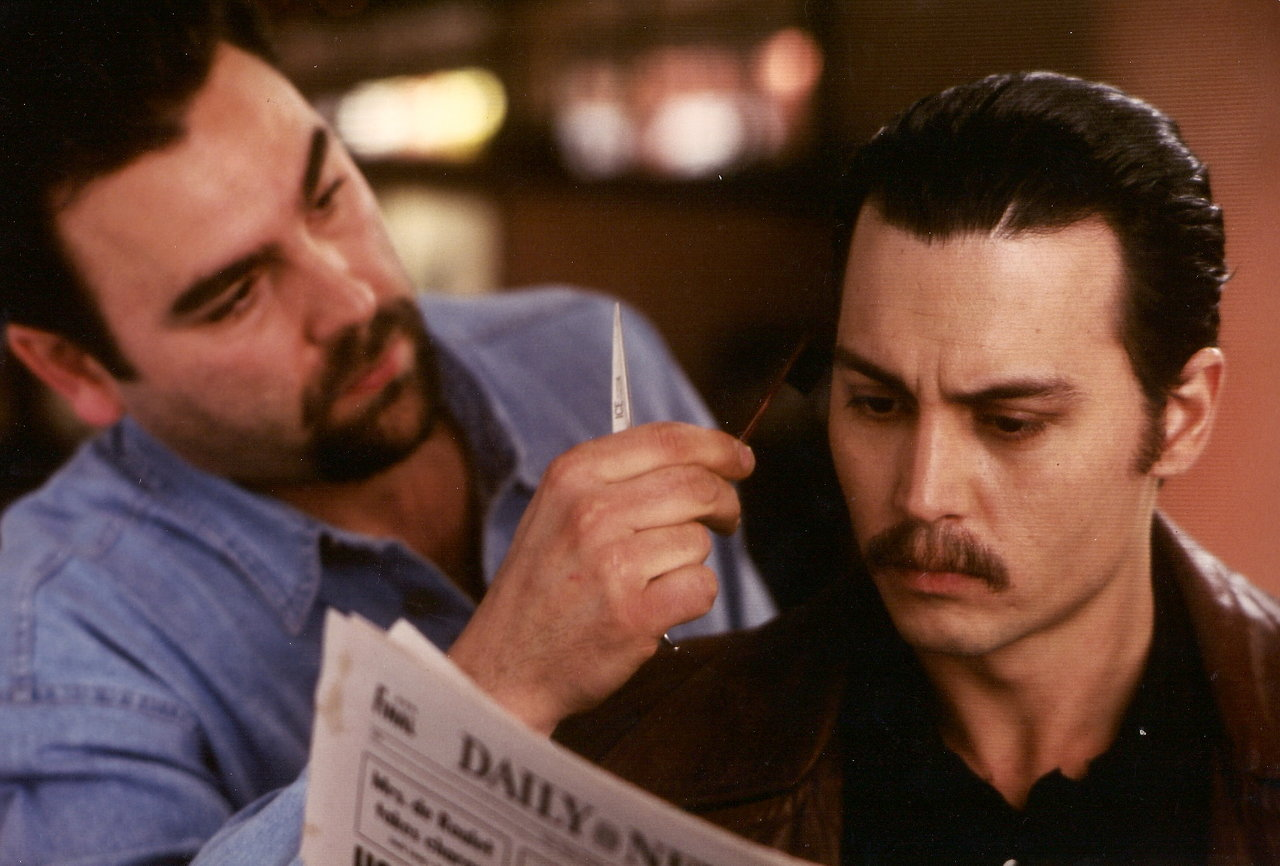 On the set of Donnie Brasco