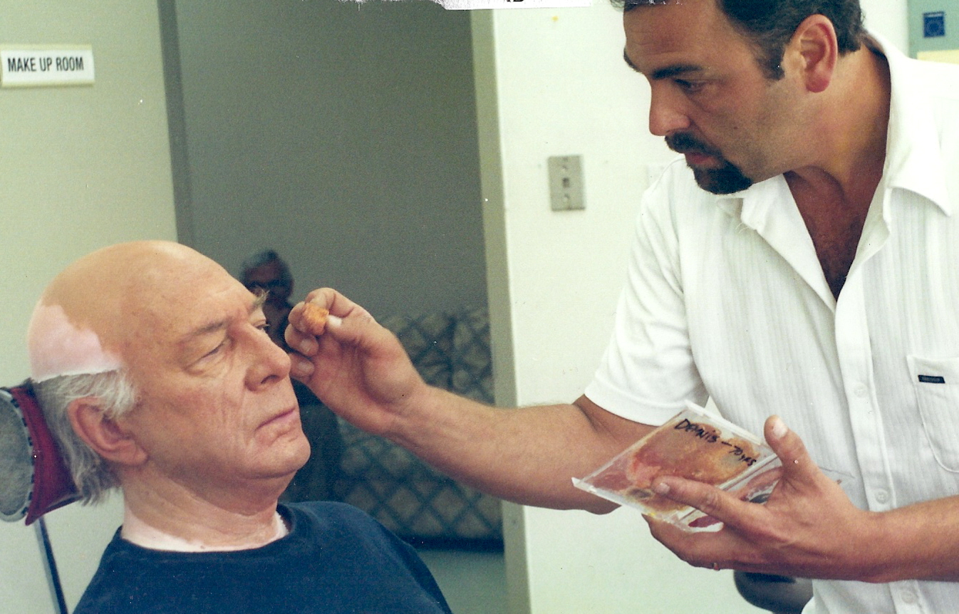John making up Christopher Plummer