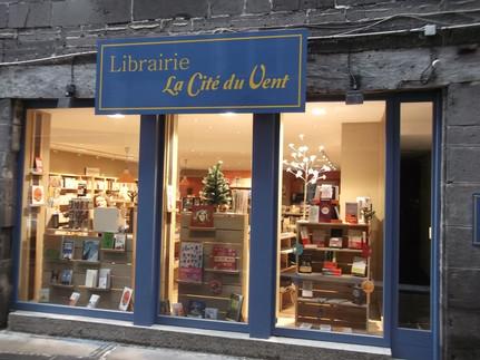 Une librairie à Saint Flour