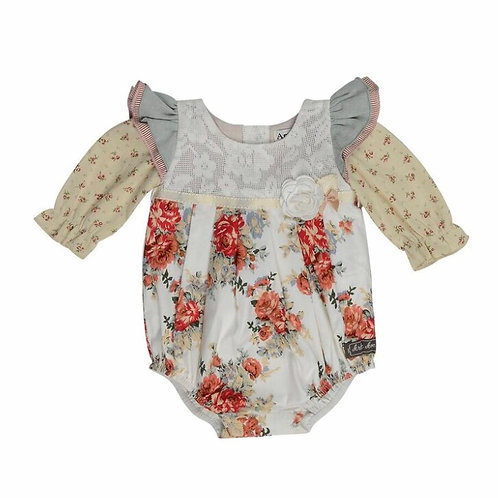 Antique Rose Playsuit