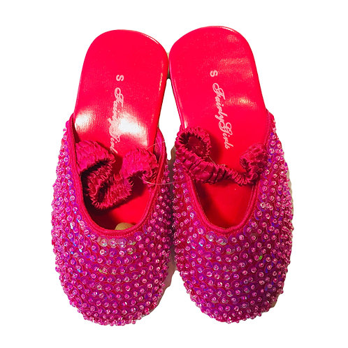Sequin Party Sling Backs