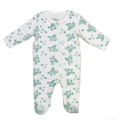 Eucalyptus Footed Romper