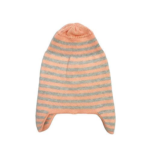 Apricot Stripe Beanie