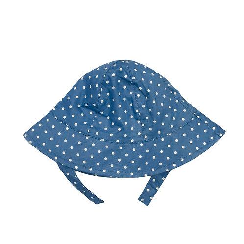 Chambray Spot Sun Hat