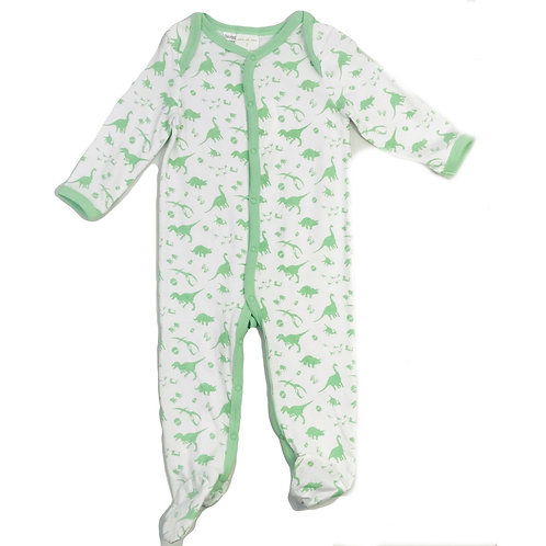 Dino Footed Romper
