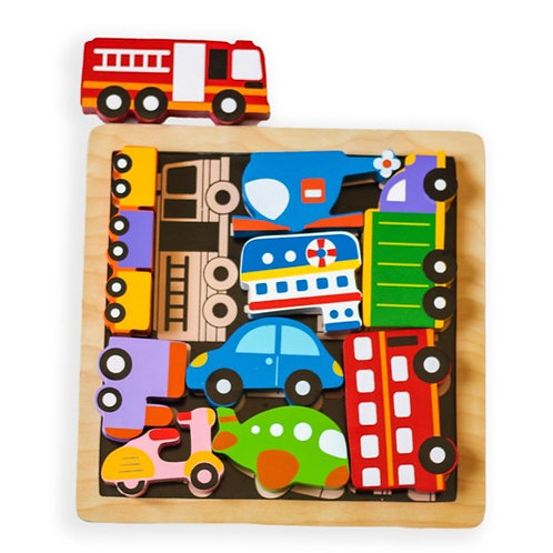 Chunky Traffic Puzzle