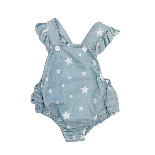 Ruffle Star Sunsuit