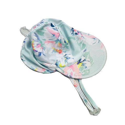 Pastel Floral Swim Hat