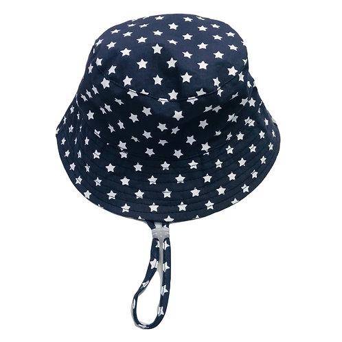 Navy Star Sun Hat