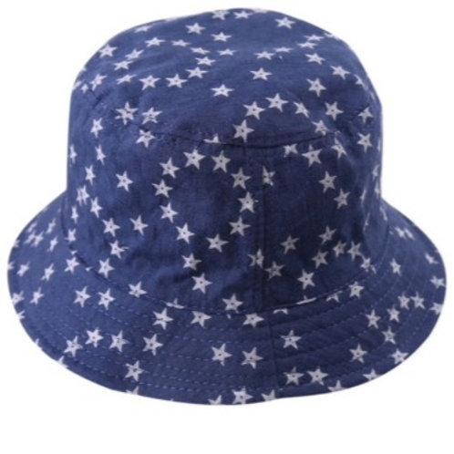 Chambray Star Sun Hat