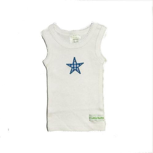 Blue Star Singlet