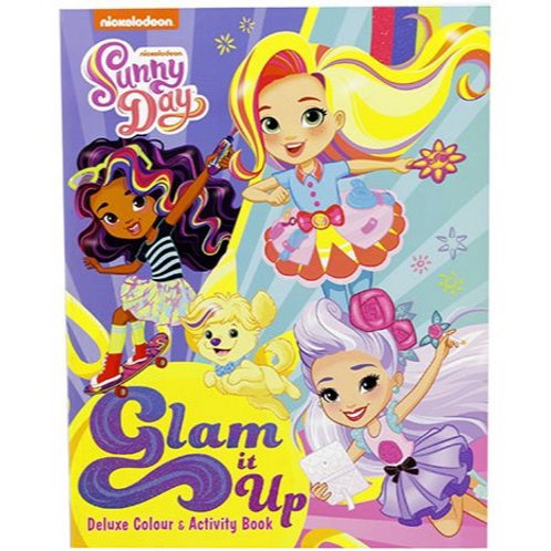 Glam it up Colour & Activity Book