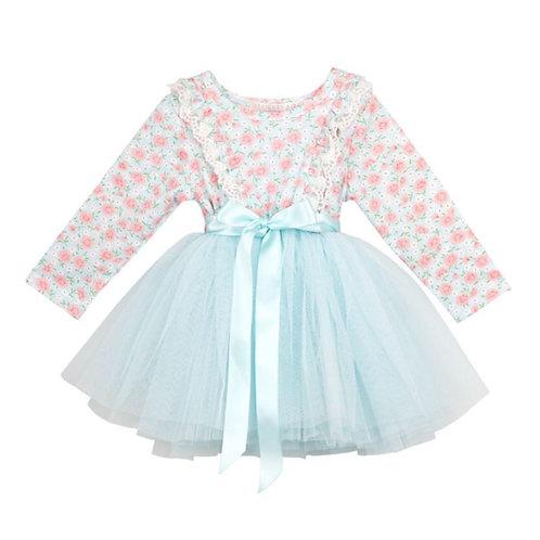 Aqua Tutu Dress