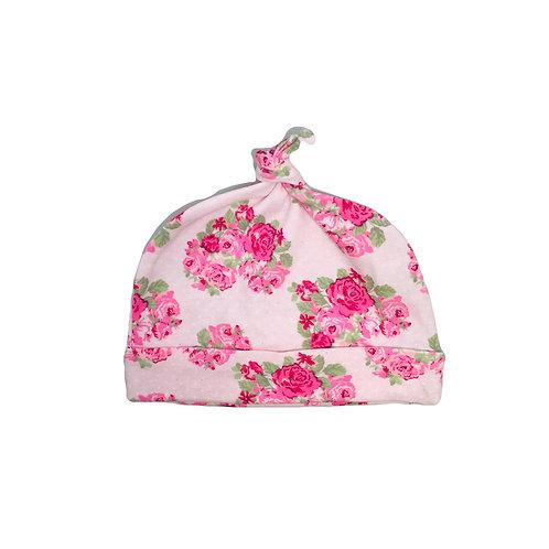 Pink Flower Beanie