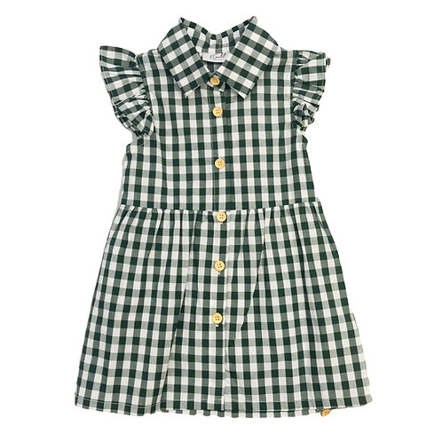 Gingham Check Summer Dress