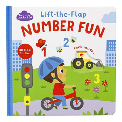 Number Fun - Lift the Flap
