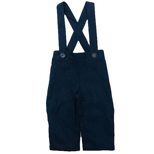 Navy Suspender Overall