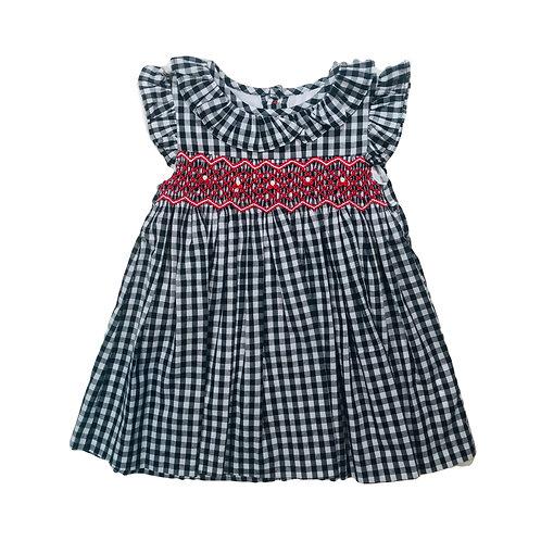 Frankie Gingham Smock Dress