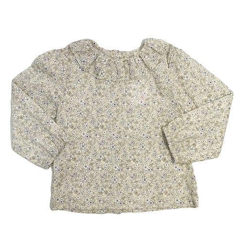 Dusty Floral Blouse
