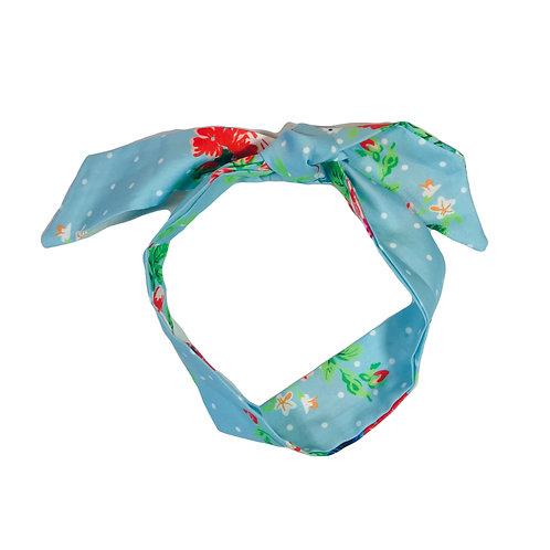 Satin Tie Headband