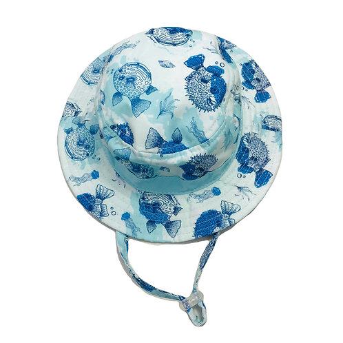 Bubble Fish Sun Hat
